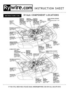 D16z6 Engine Diagram - Wiring Diagram & Cable Management on